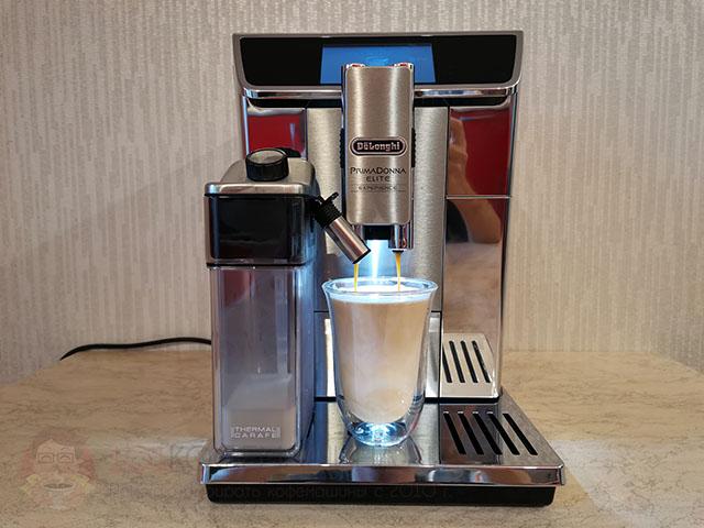 Рецепт кофе латте на кофемашине Delonghi ECAM 650.85